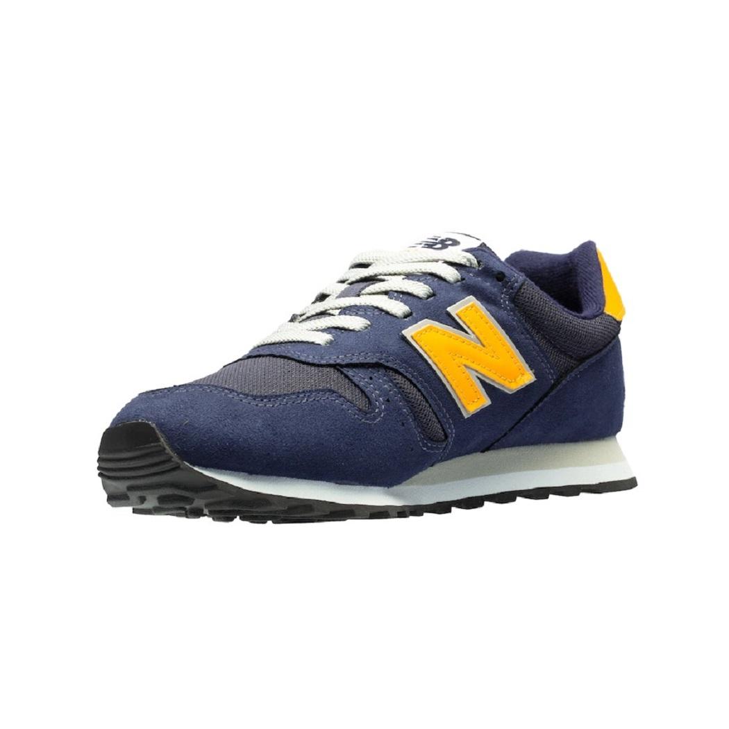 Tênis New Balance 373 ML373AA2 Masculino Marinho e Amarelo