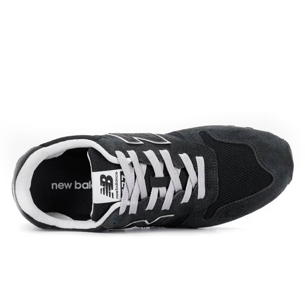 Tênis New Balance 373 ML373UB2 Masculino Preto e Branco