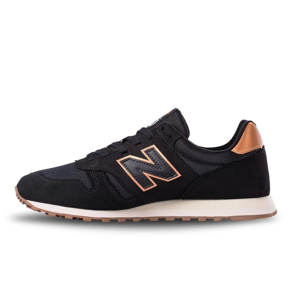 Tênis New Balance 373 WL373CE2 Feminino Preto e Bronze