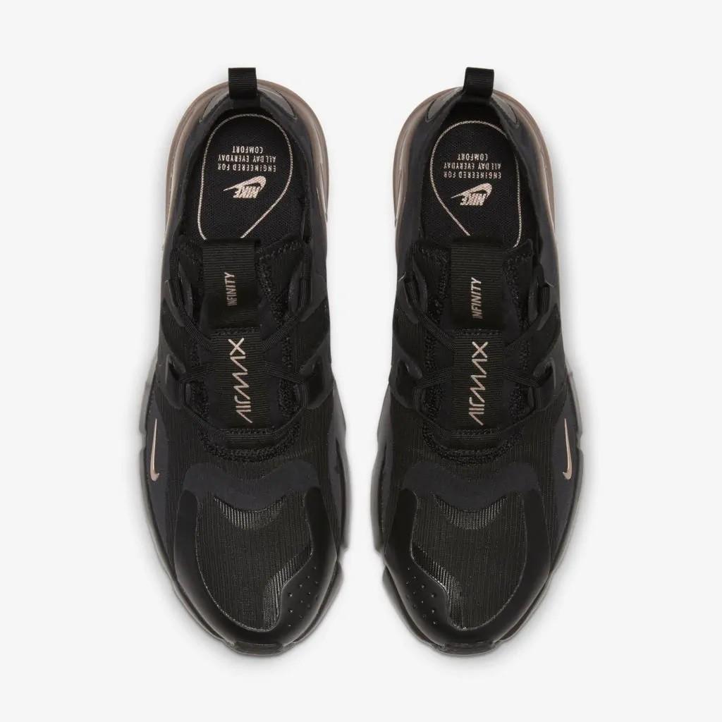 Tênis Nike Air Max Infinity Feminino Preto e Bege
