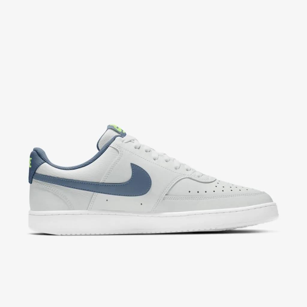 Tênis Nike Court Vision LO Masculino Cinza e Azul