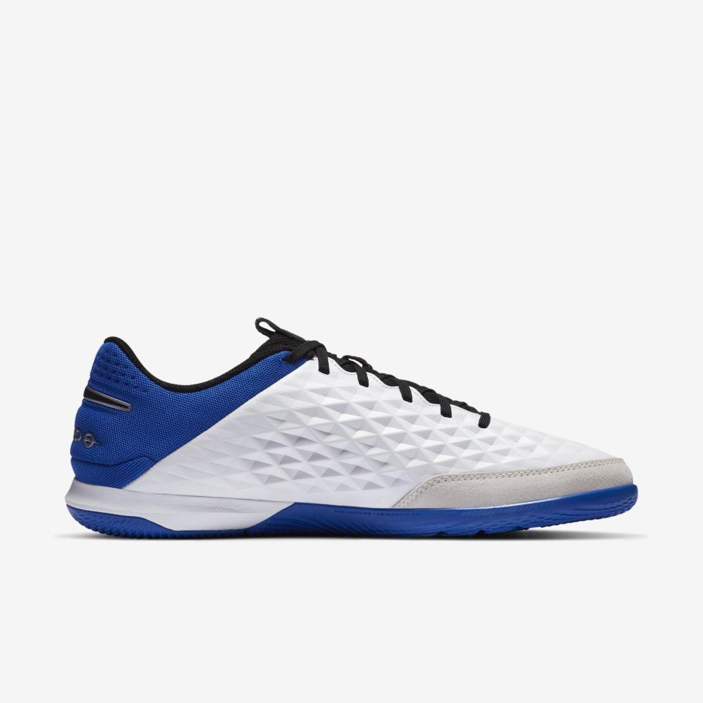 Tênis Nike Futsal Tiempo Legend 8 Academy Azul, Branco e Preto