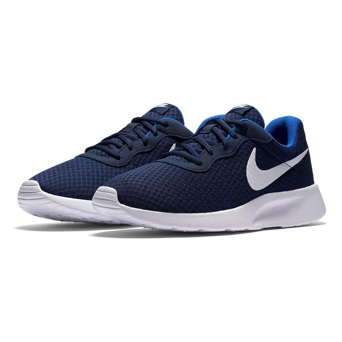 Tênis Nike Tanjun Masculino Marinho e Branco