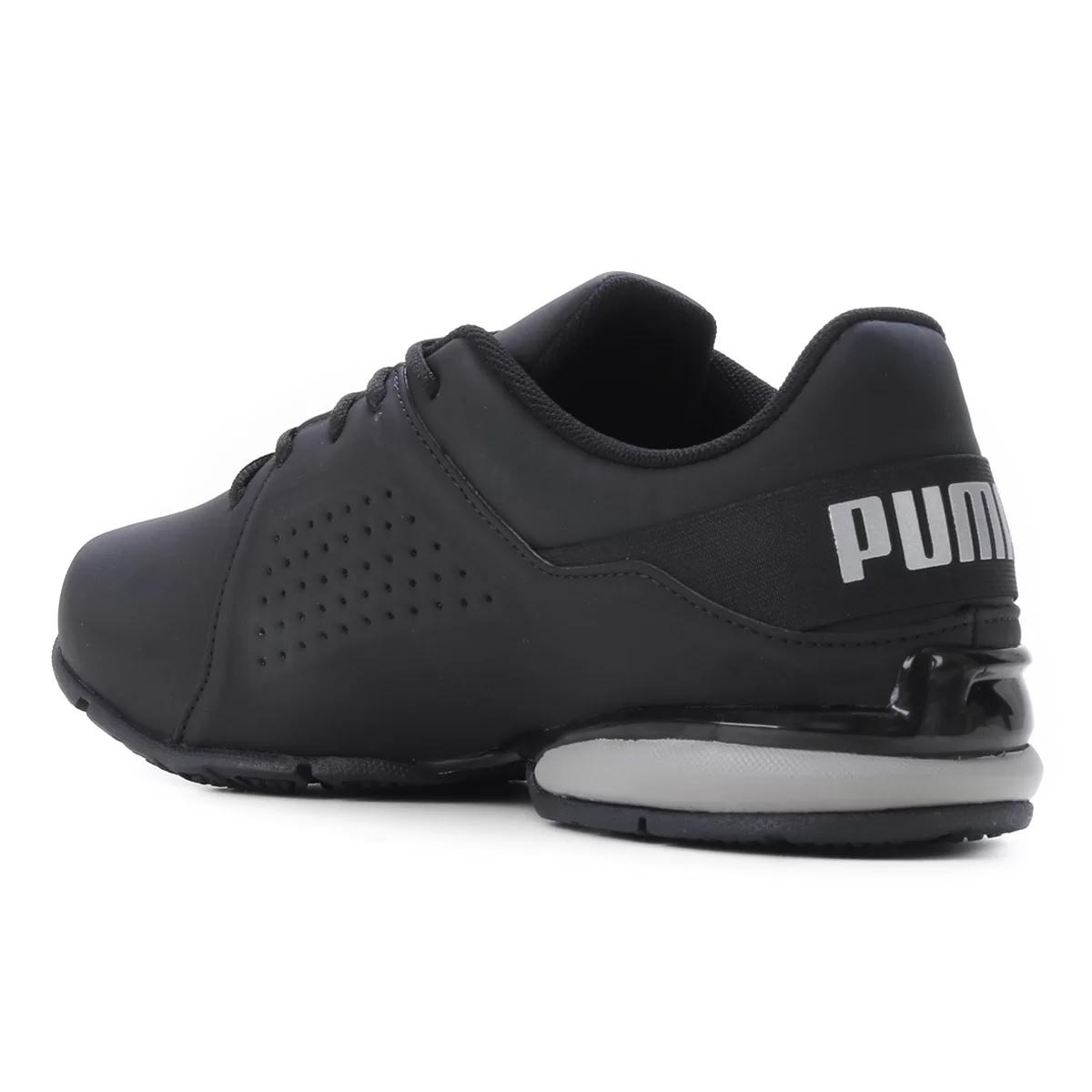 Tênis Puma Viz Runner BDP Masculino Preto