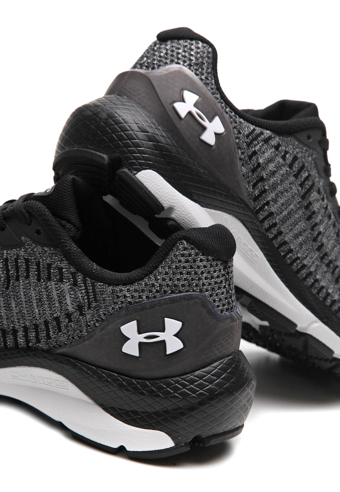 Tênis Under Armour Charged Skyline 2 Masculino Cinza e Preto