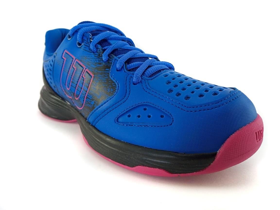 Tênis Wilson K Energy Feminino Azul e Pink