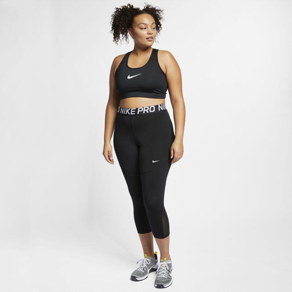 Top Nike Dry-Fit Swoosh Preto