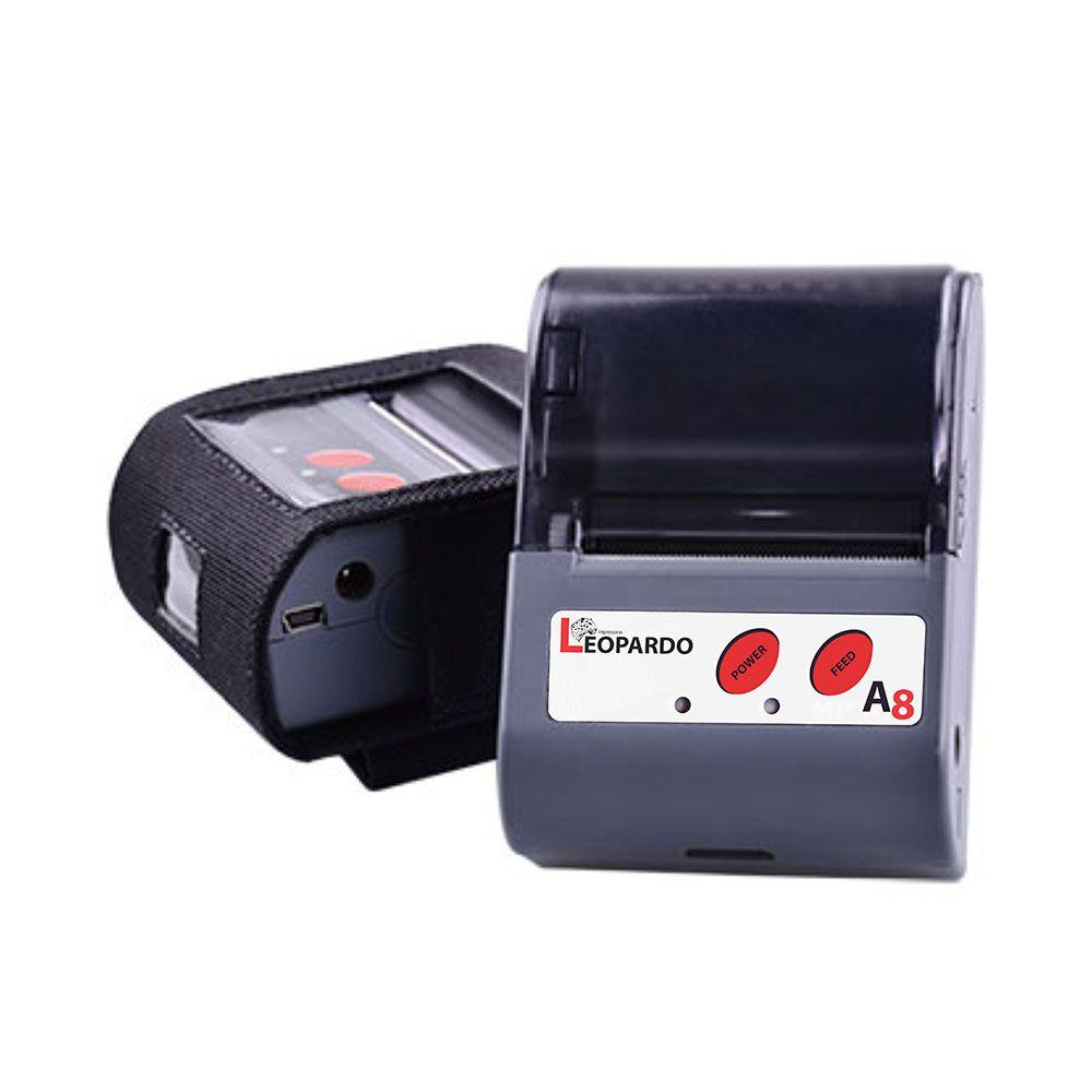 Impressora Térmica Portátil A8 - Leopardo