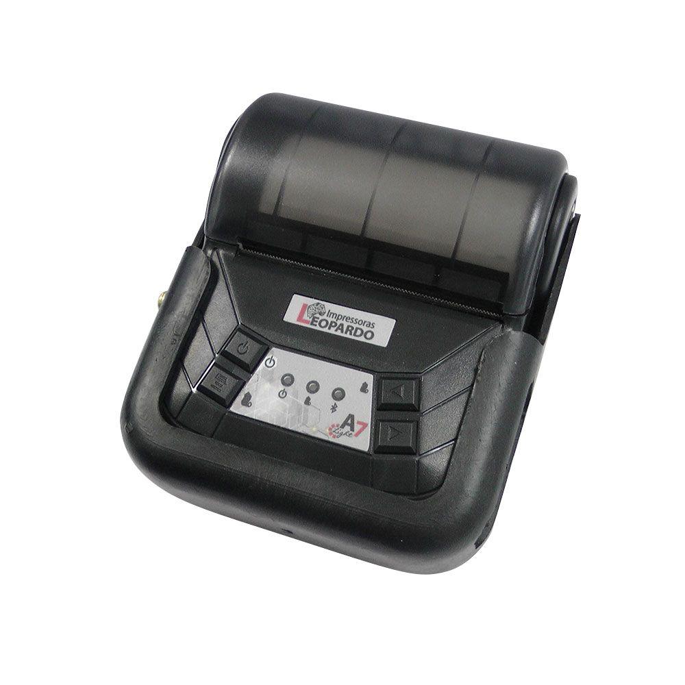 Impressora Térmica Portátil A7 Light Leopardo