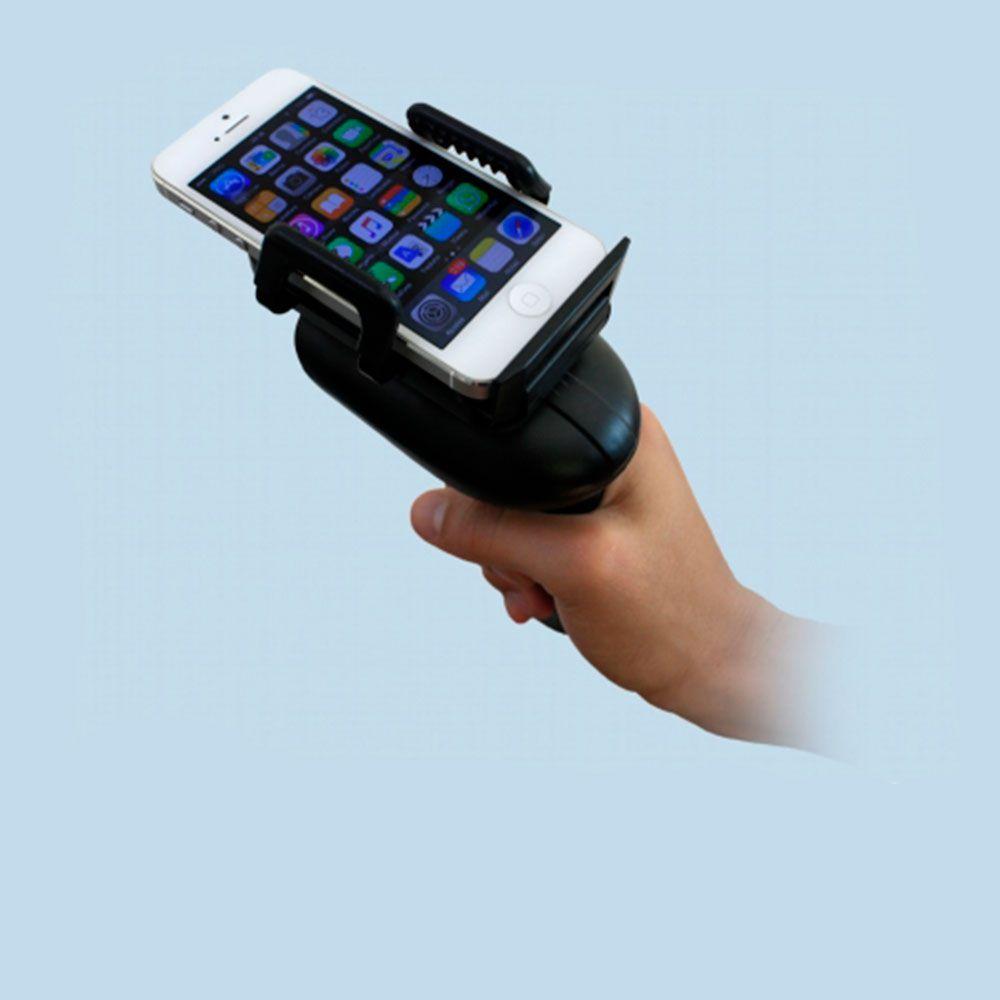 Leitor de Código de Barras 2D Bluetooth com Suporte para Celular CPX 2262M