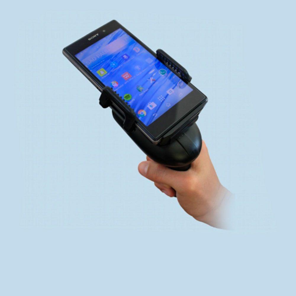 Leitor de Código de Barras Bluetooth com Suporte para Celular  CPX 2260M