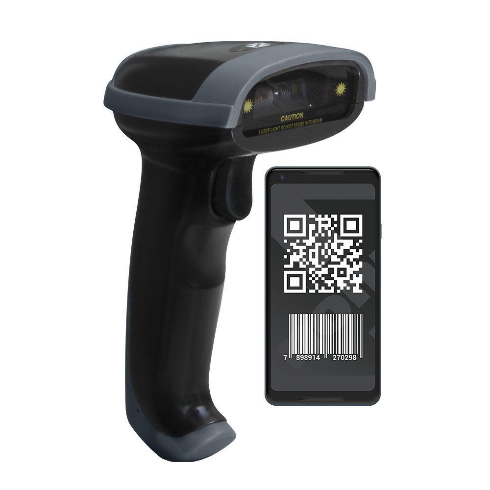 Leitor de Código de Barras QR Code - QR302D