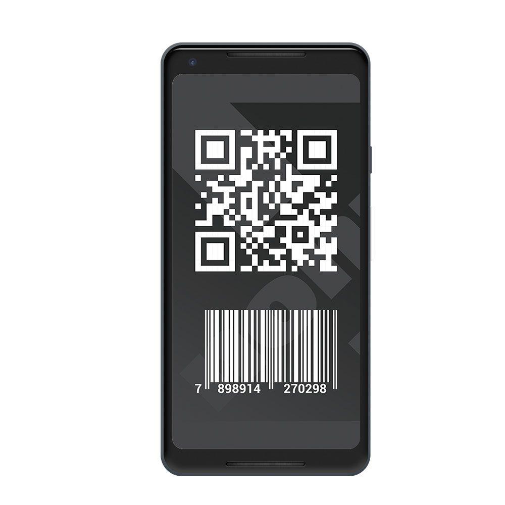 Leitor de Código de Barras QR Code  QR302D