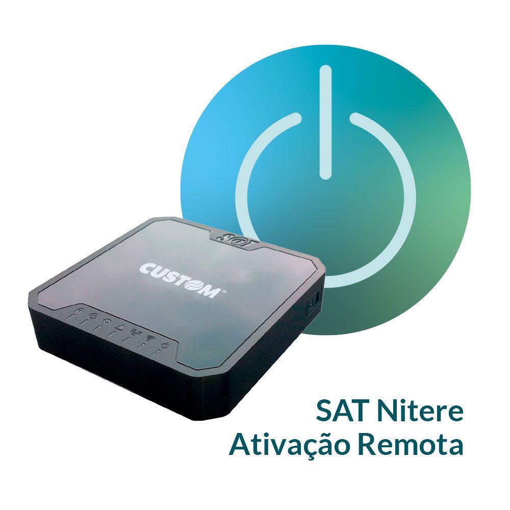 NSAT 4200 com Ativação Remota -  Custom/Nitere