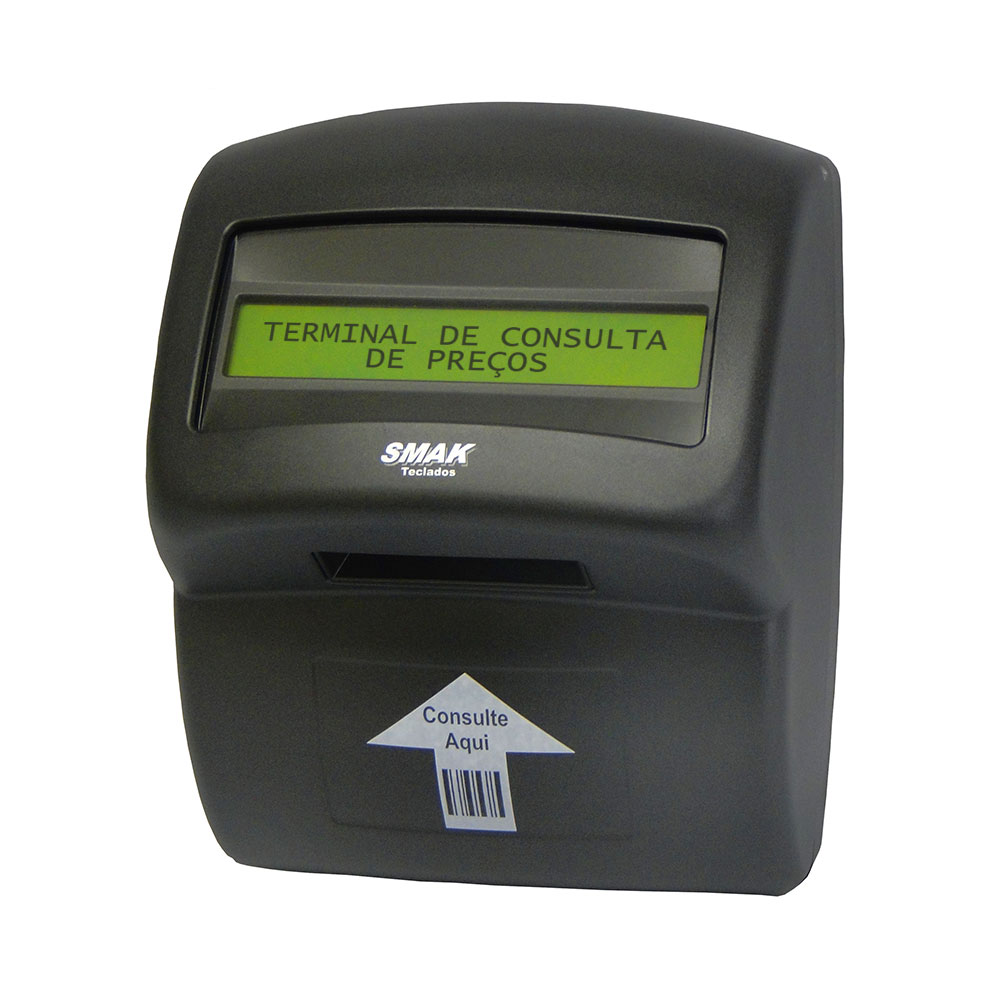 Terminal de Consulta Preço SKL MTC com Leitor Unidirecional