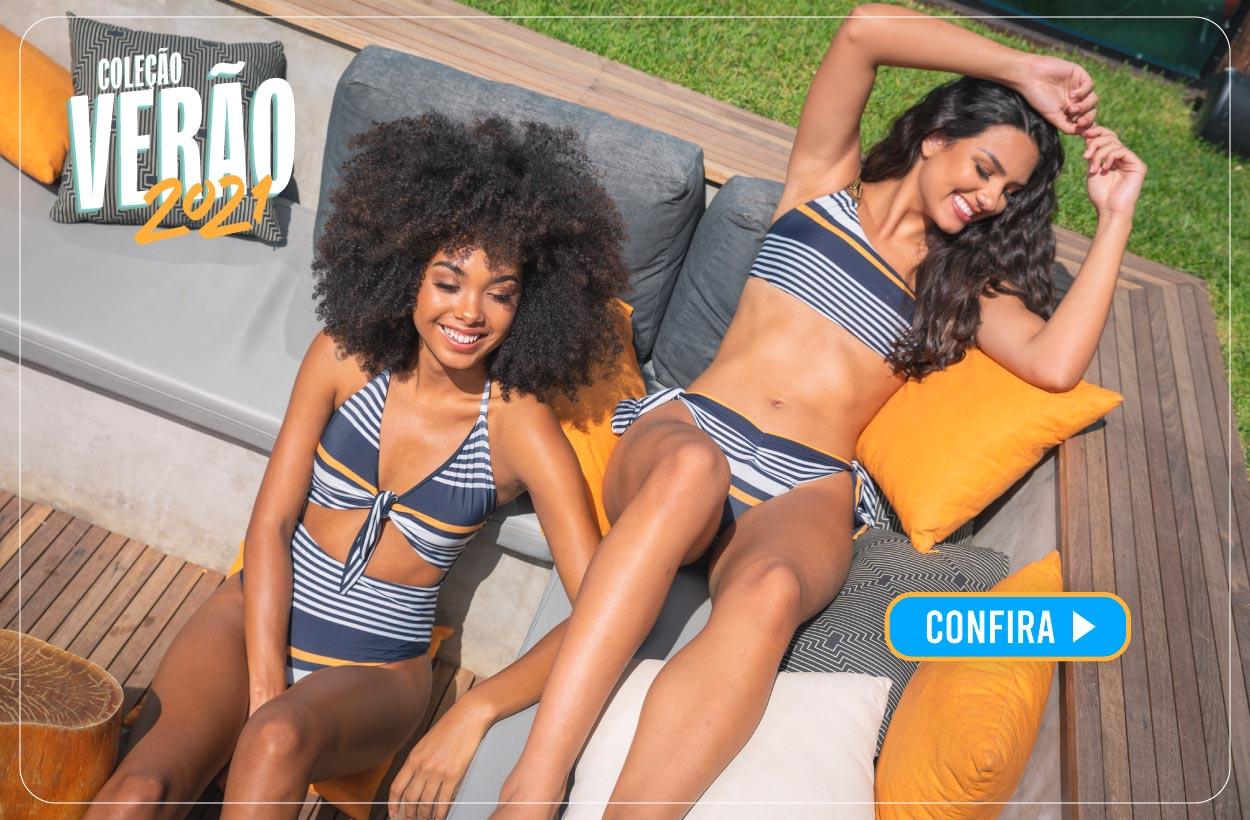 Lançamento de Biquínis da Coleção VERÃO 2021 da Pitanga Moda Praia - Biquínis exclusivos!