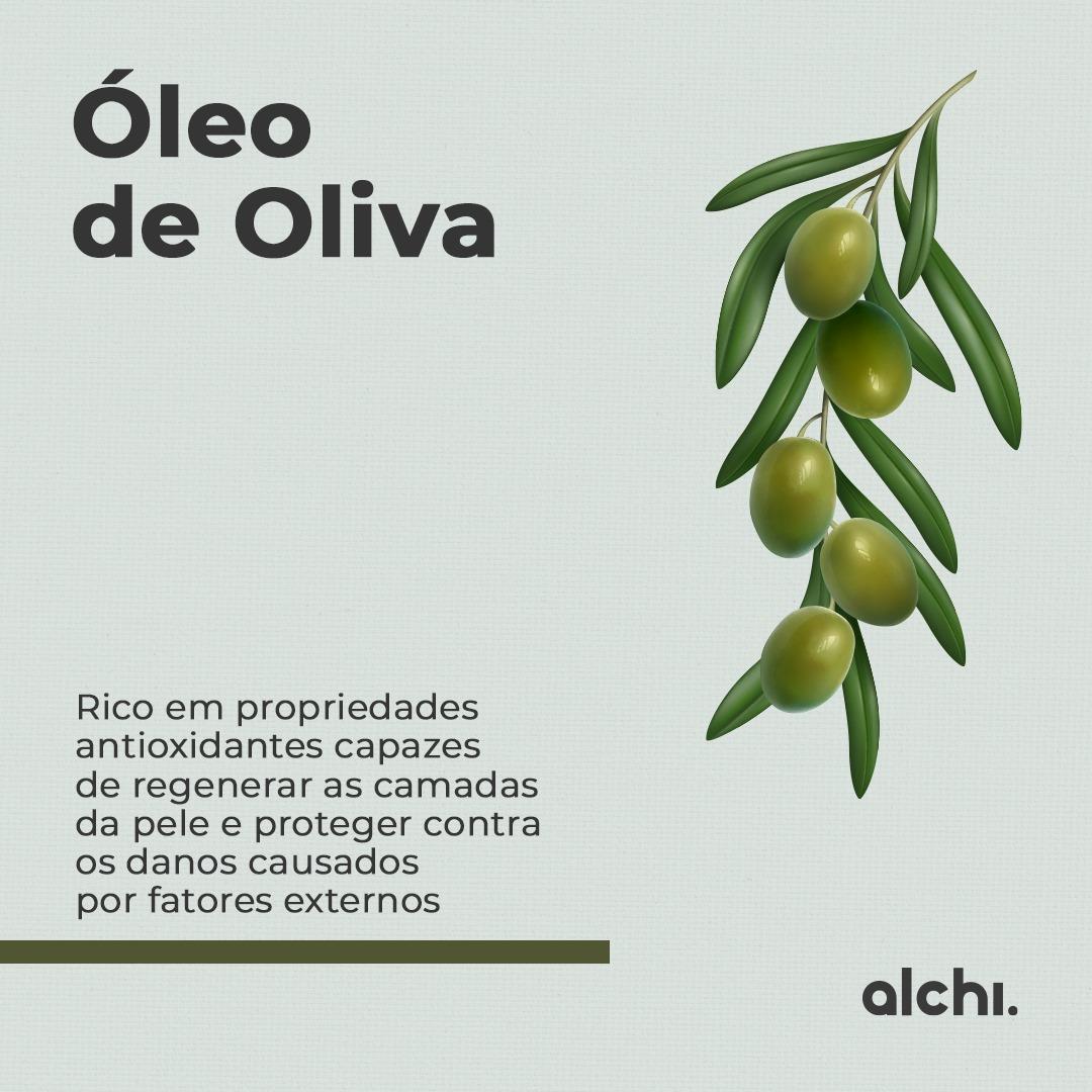 Manteiga Hidratante para Pernas e Pés Oliva  Alchi 200ml