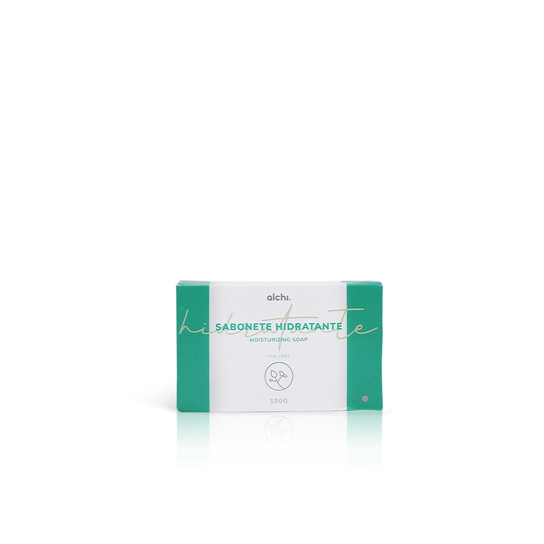Sabonete Barra Hidratante Thé Vert ALCHI 100g