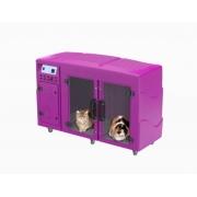 Máquina de Secar Animais Rotomoldada Kyklon Rosa