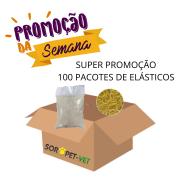 """MEGA PROMOÇÃO 100 PACOTES - Elásticos 5/16"""" para Laços com 1.000un cada"""