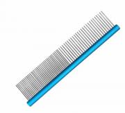 Pente 19cm Duplo Alumínio Azul - ProPetz