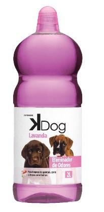 Desinfetante Eliminador de Odores Lavanda Kdog 2L
