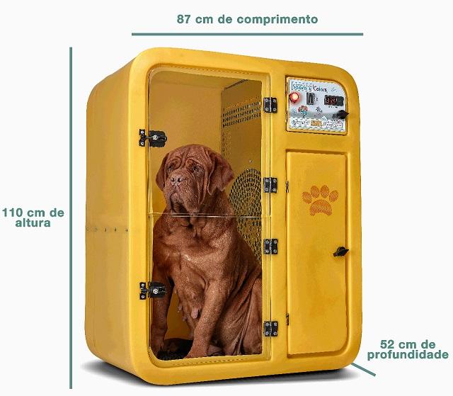 Máquina de Secar Animais Omega