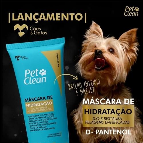 Máscara de Hidratação Pet Clean S.O.S Pelagens Danificadas 400g