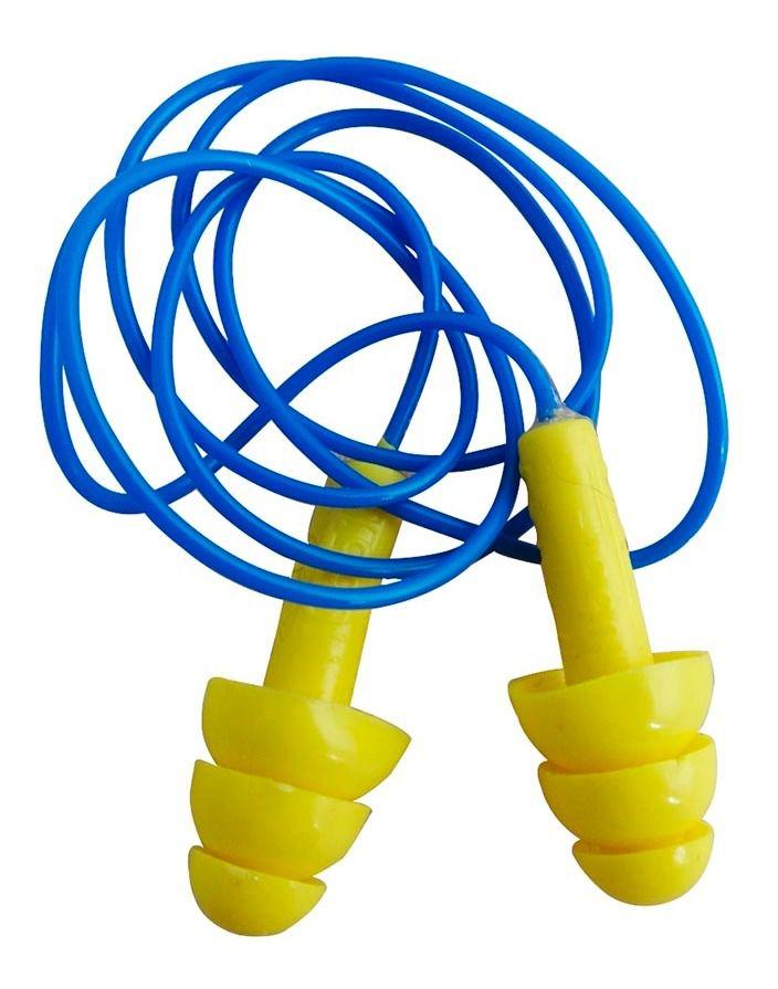 Protetor Auricular com Cordão (5 unidades)
