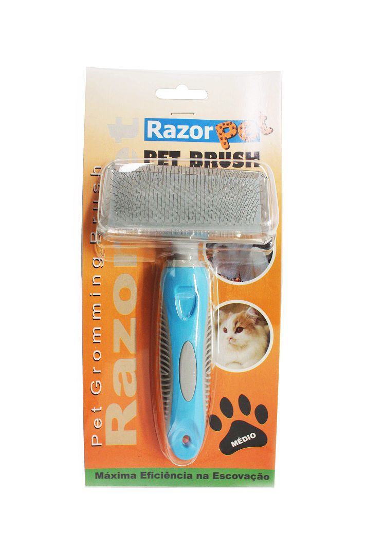 Rasqueadeira Media Razor Pet