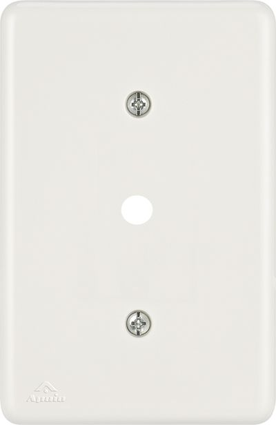 PLACA 4X2 C/FURO DE 10MM BIANCA (24 UNIDADES)