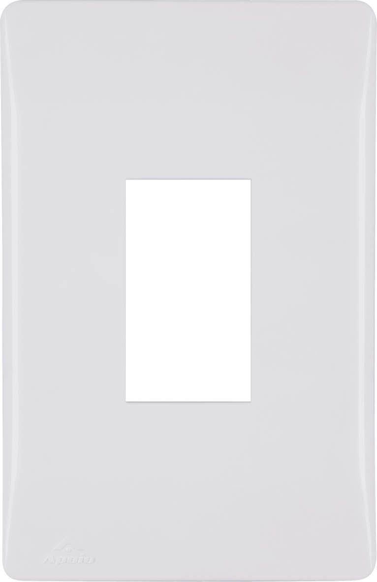 PLACA 4X2 P/1 MÓDULO VERTICAL+SUPORTE (20 UNIDADES)