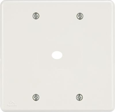 PLACA 4X4 C/FURO DE 10MM BIANCA ( 24 UNIDADES)