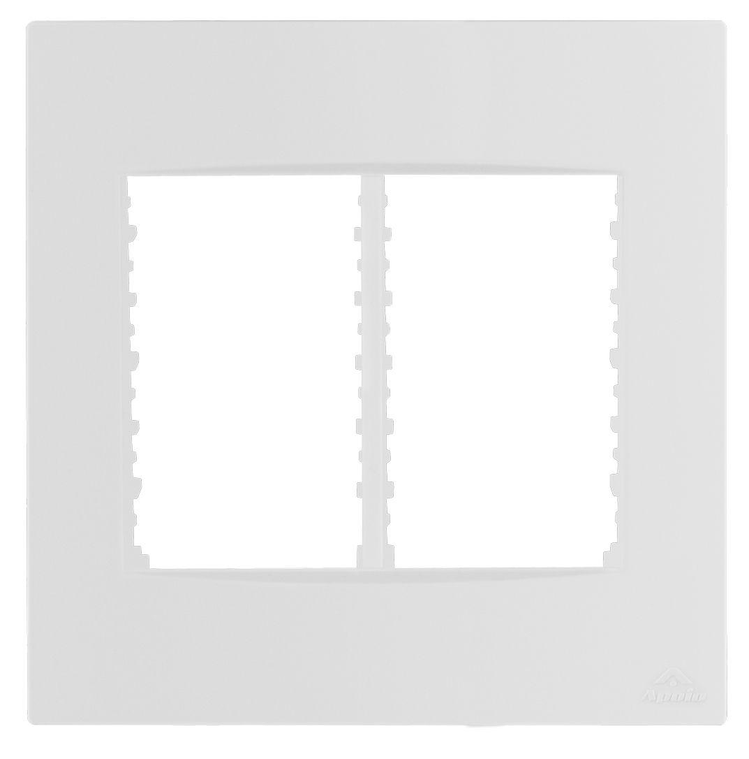 PLACA 4X4 P/6 MODULOS+SUPORTE LISSÊ (10 UNIDADES)