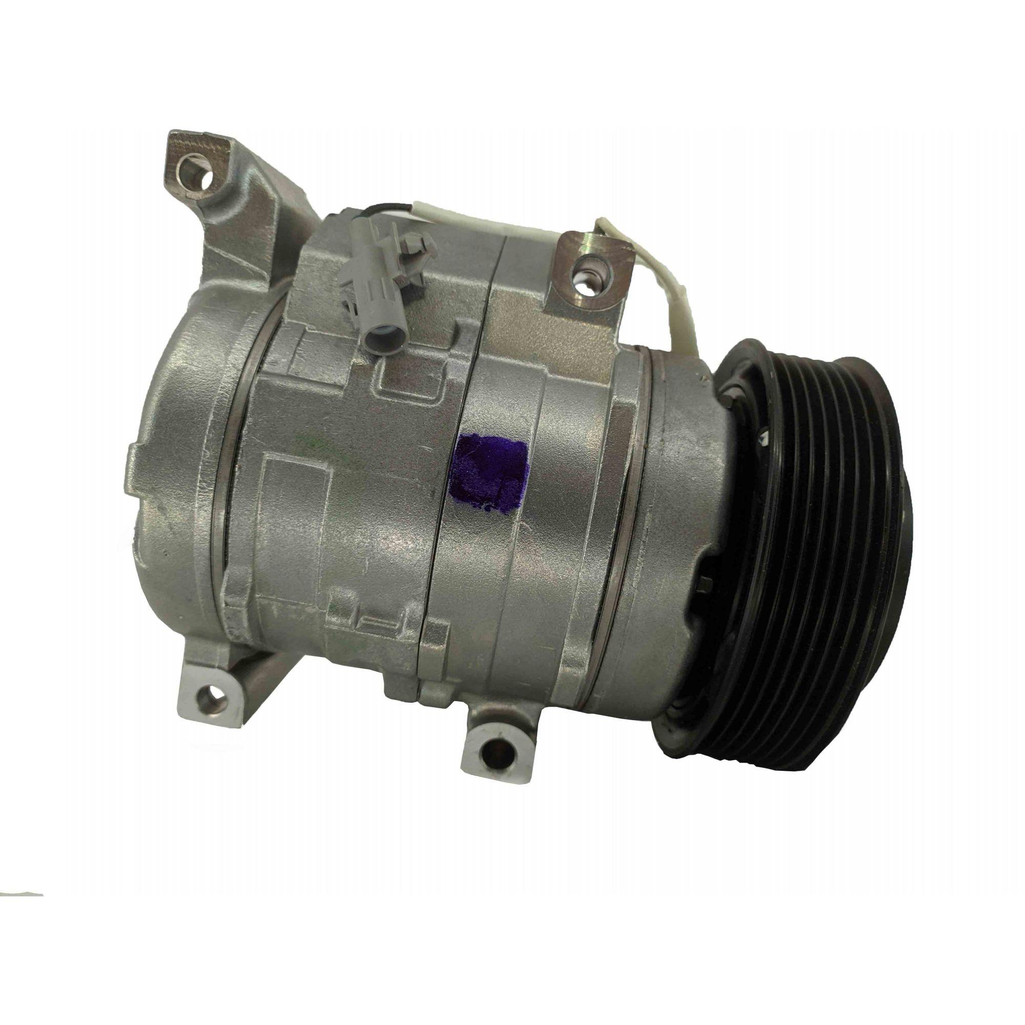 Compressor 10s15 Toyota Hilux 2006 A 2015 Flex 12v - Original DENSO