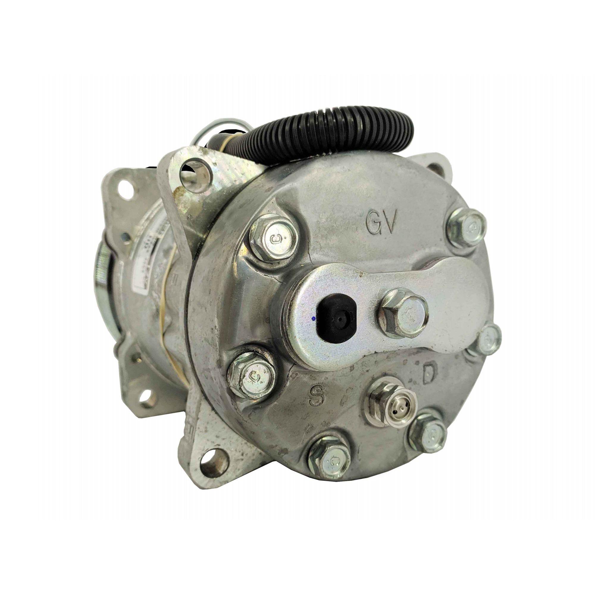 Compressor 7h15 8PK saída traseira 8 orelhas - Original SANDEN
