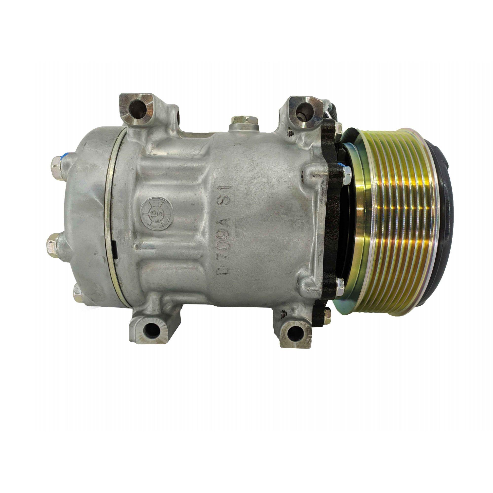 Compressor 7h15 Passante Jcb 24v - Original SANDEN