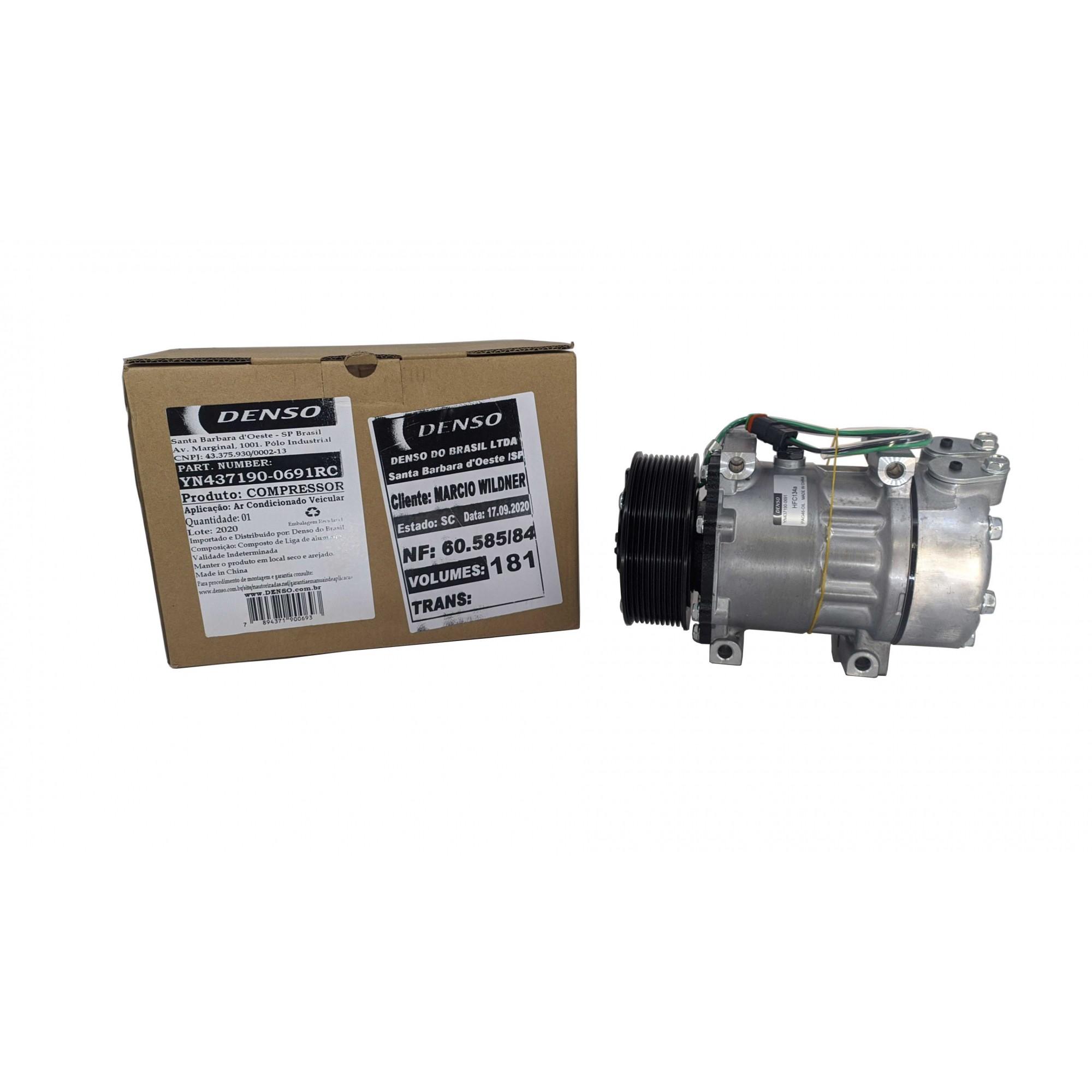 Compressor 7h15 Scania 10pk - Original DENSO
