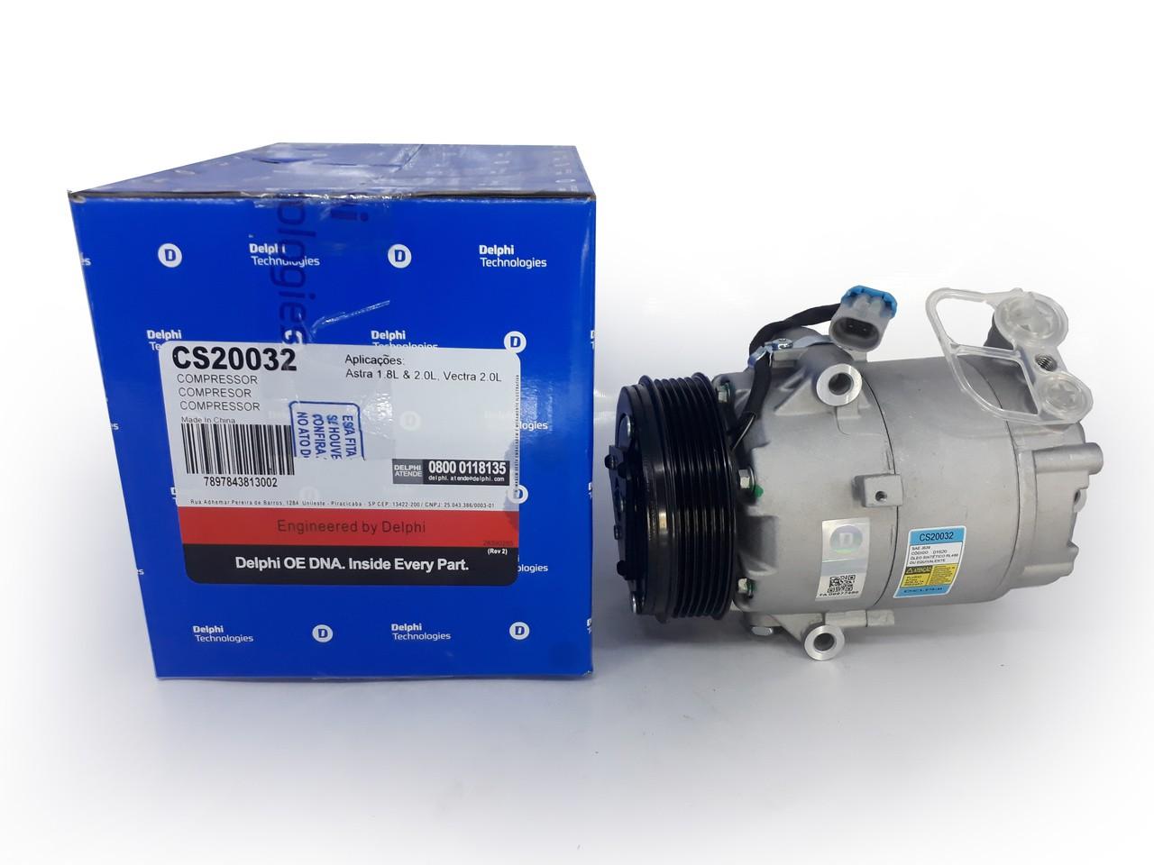 Compressor Astra / Vectra / Zafira - Original DELPHI