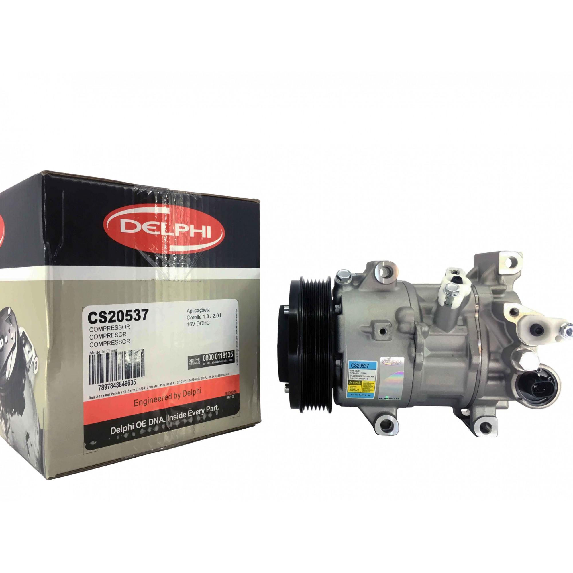 Compressor Corolla 2015 Em Diante - Original DELPHI