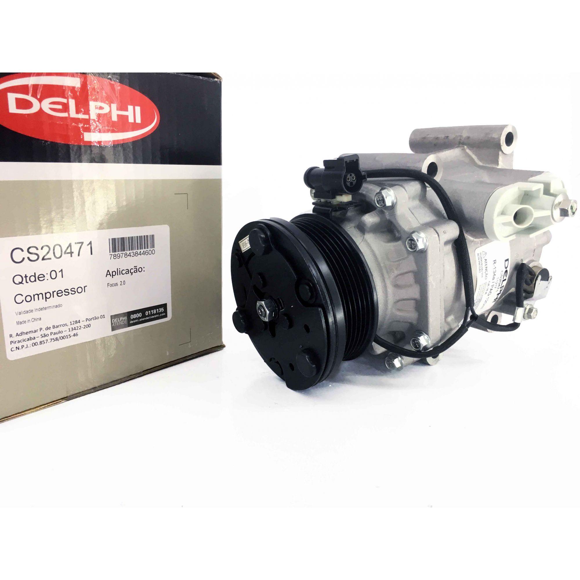 Compressor Focus 2.0 ano 2005 a 2008 - Original DELPHI