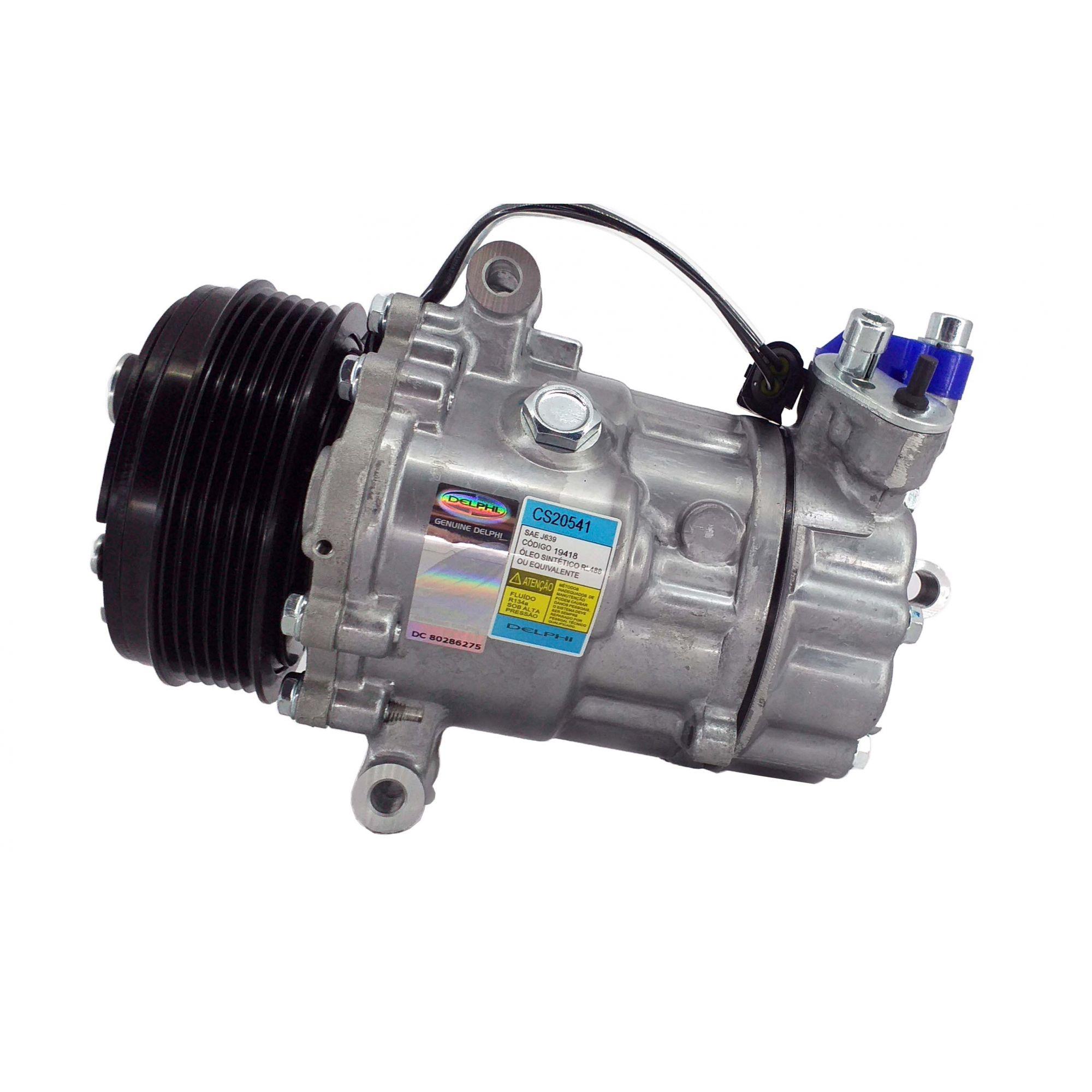 Compressor Gol / Fox / Saveiro Msi 1.6 16v - Original DELPHI