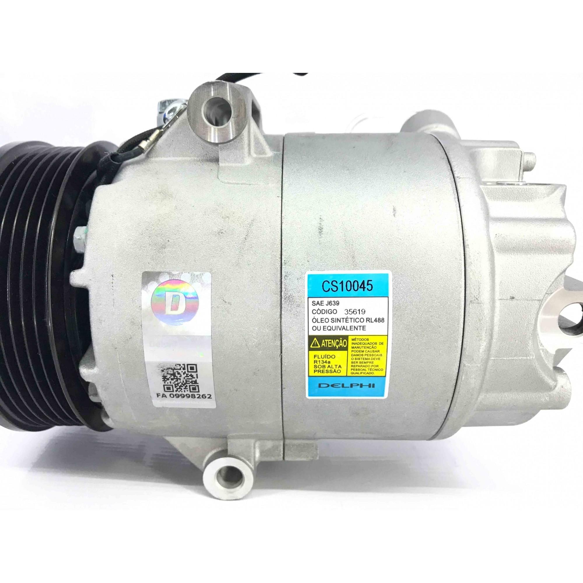 Compressor de ar condicionado  Gol, Parati E Saveiro G3 G4 1.6 e 1.8