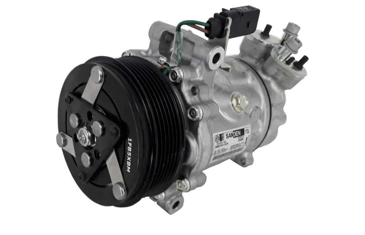 Compressor  Gol -  Saveiro G6 -  Msi 1.6 16v - Original  Sanden