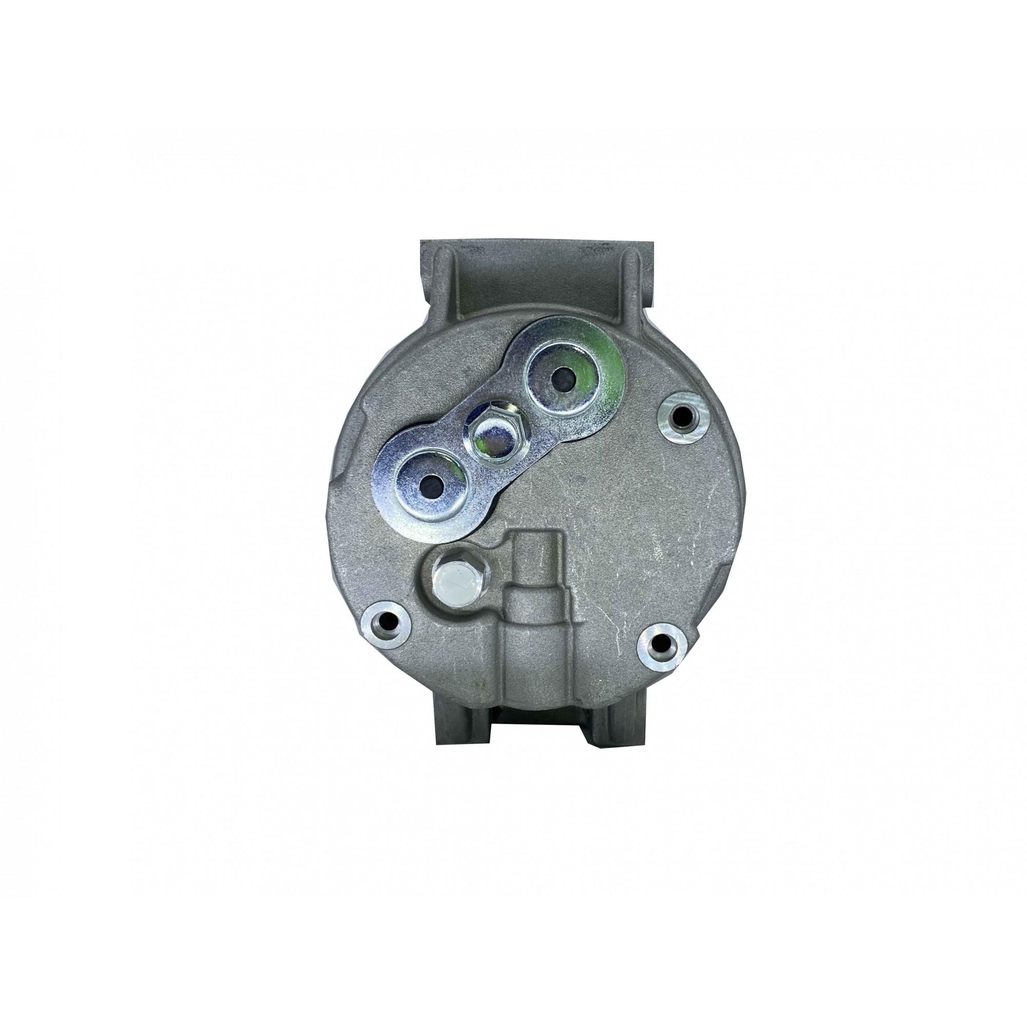 Compressor maquina escavadeira hyundai 24v