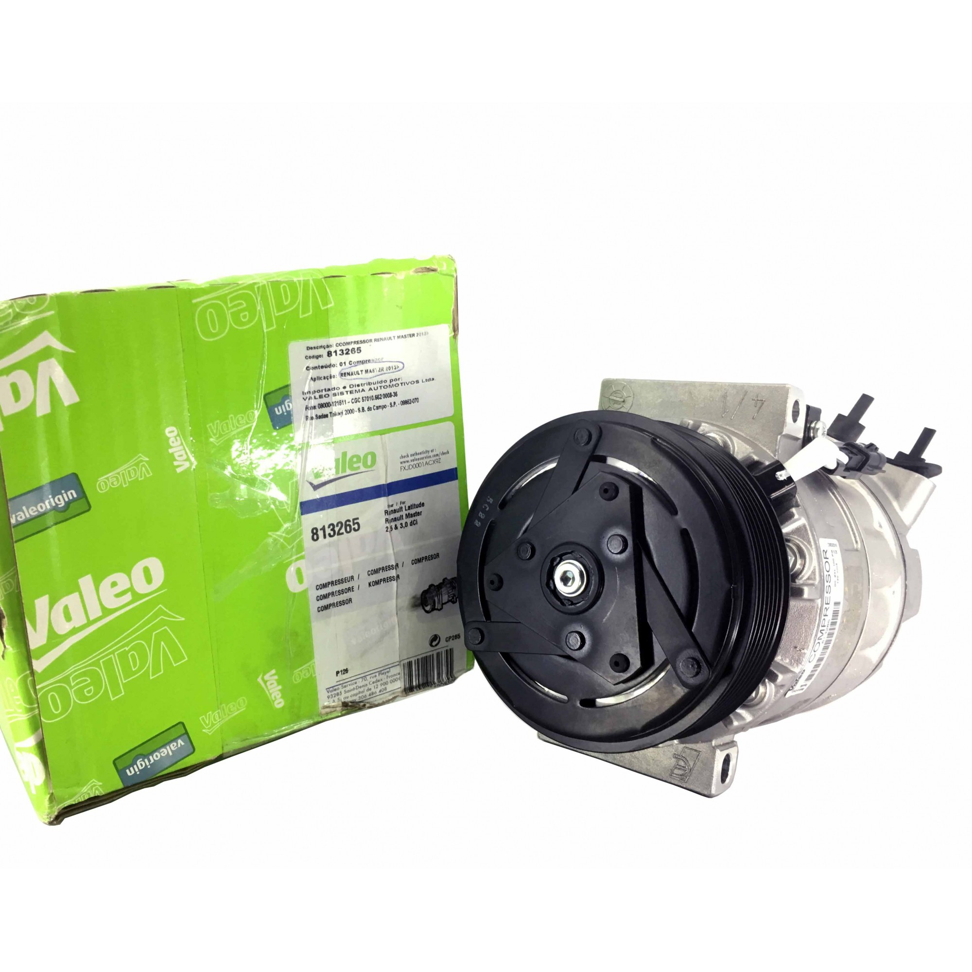 Compressor Master Nova 2013 - Original VALEO