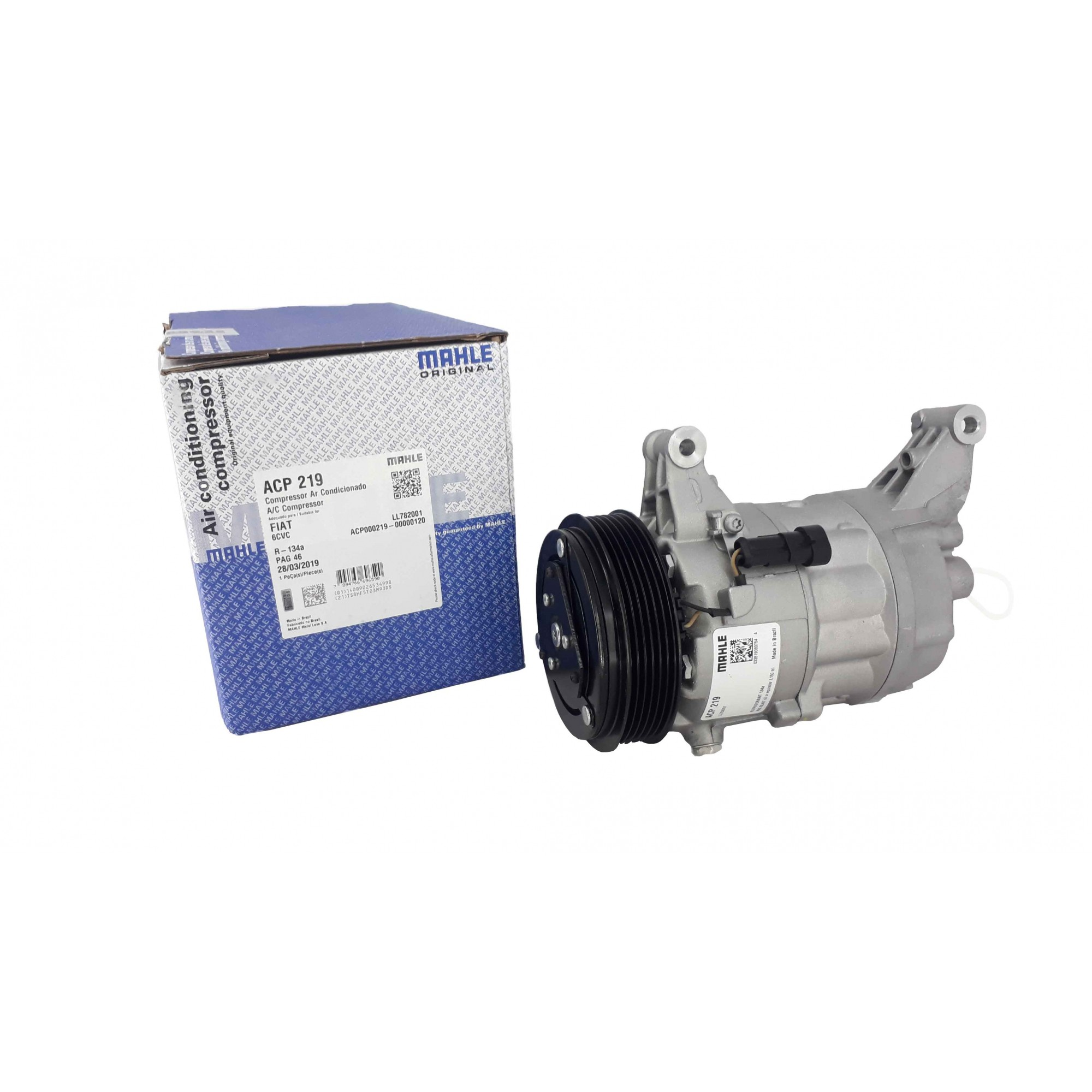 Compressor Palio / Strada / Punto / Brava - Original MAHLE