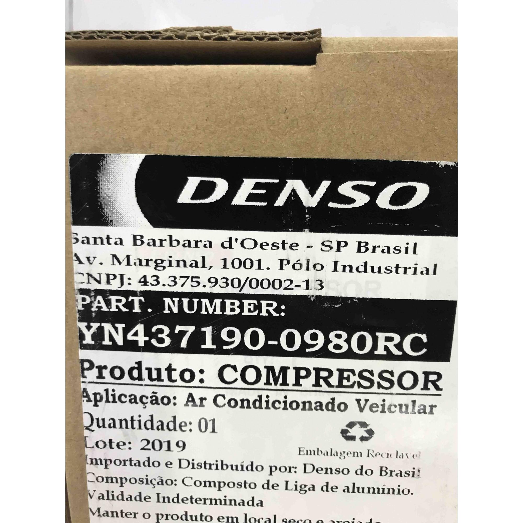 Compressor Peugeot 208 / 307 / Citröen C3 / C4 - Original DENSO