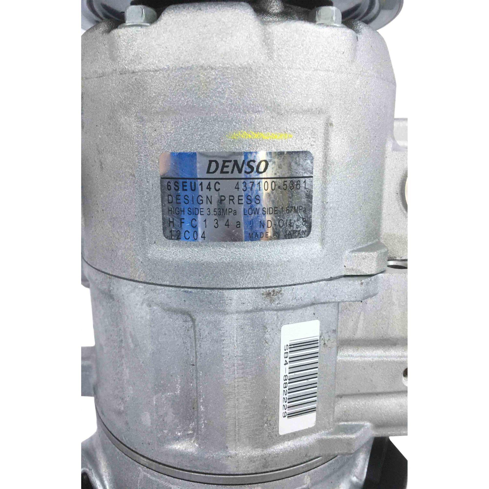 Compressor Polo 6pk 2002 em diante - Original Denso