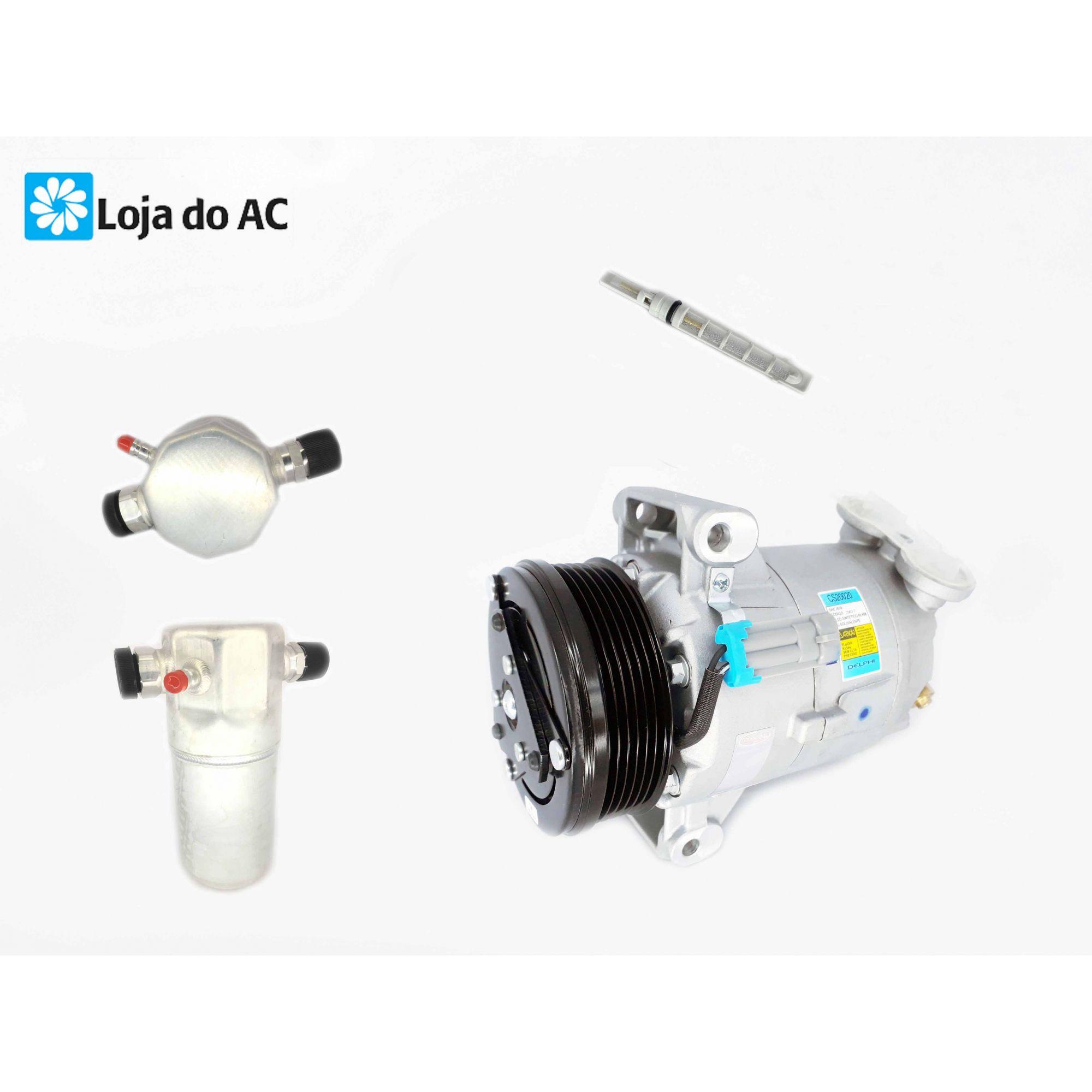 Compressor S10 2.4 / 2.8 - Original Delphi + Filtro Secador E Brinde